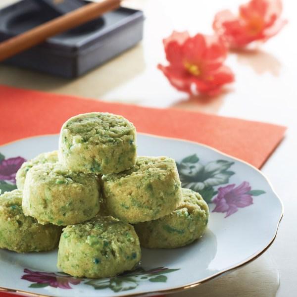 CNY Cookies Singapore 2021 - Green Pea Cookies