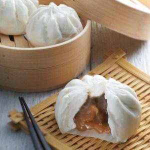 All-time favourite Lotus Paste Bun (Lian Rong Pau) - 6pcs