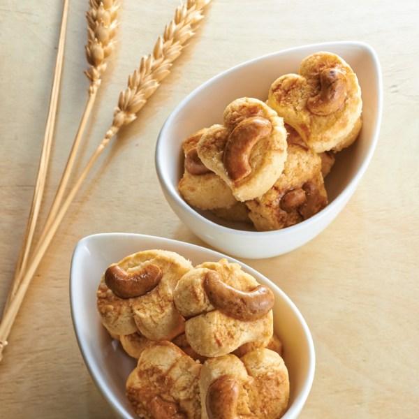 Nyonya Cashew Nut Cookies (娘惹腰果饼)