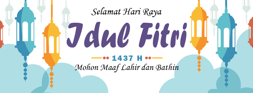 Selamat Hari Raya Idul Fitri 1437 H Mdrt Indonesia