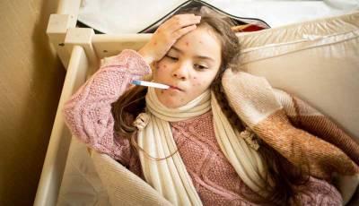 Febre e rash