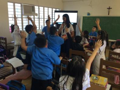 SHS holds interactive storytelling activities