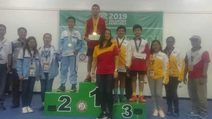 Quiambao returns in Palaro with gold, bronze medals