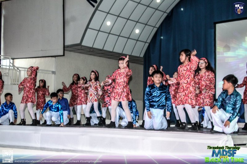 Lower Grade School Pupils Show Off Throwback Performances