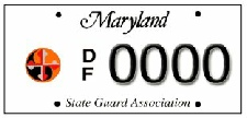 MDSGA / Defense Force License Plate Image