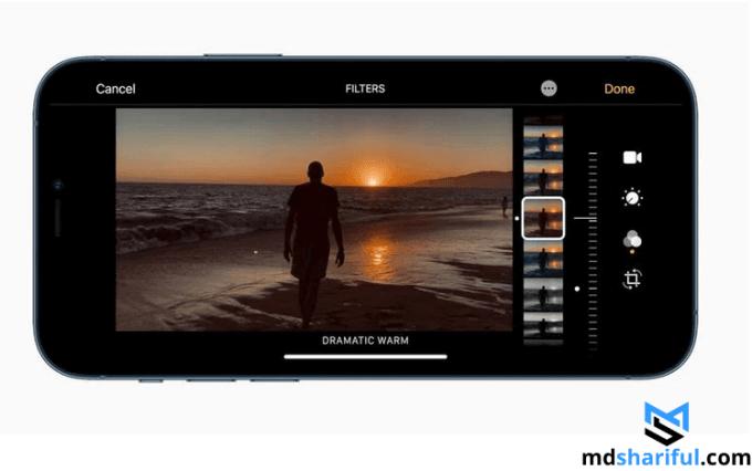 New iPhone 12 screen
