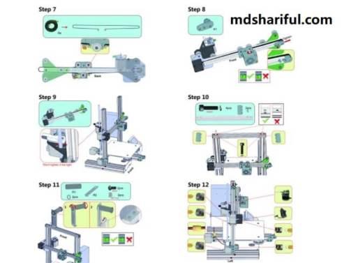 Creality Ender 3 3D Printer setup 3