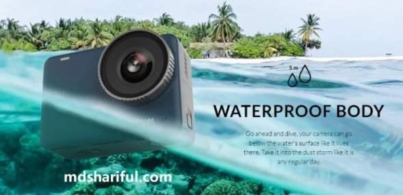 SJCAM SJ10 Pro 4K Action Camera waterproof