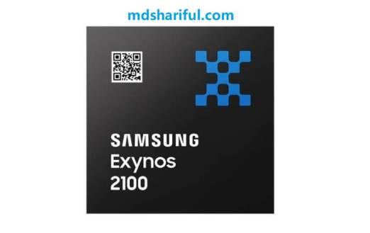 Samsung Exynos 2100 back