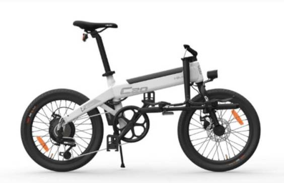 Xiaomi HIMO C20 Foldable Electric Moped Bicycle floding