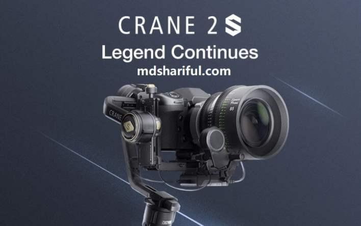 Zhiyun Crane 2S at Amazon
