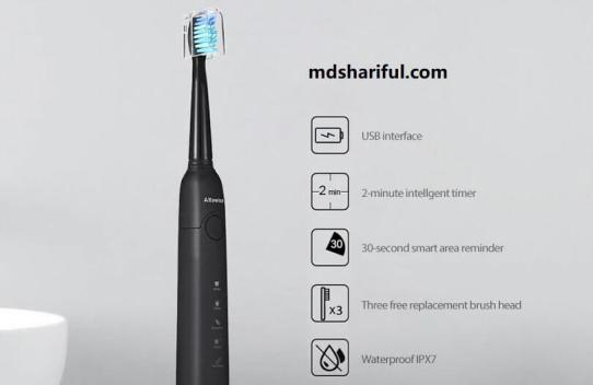 Alfawise SG-949 Sonic Electric Toothbrush