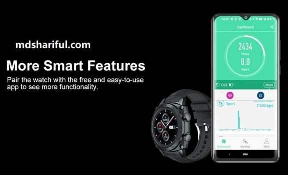 Cubot C3 Smartwatch features