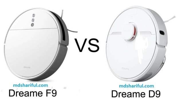 Dreame F9 vs D9