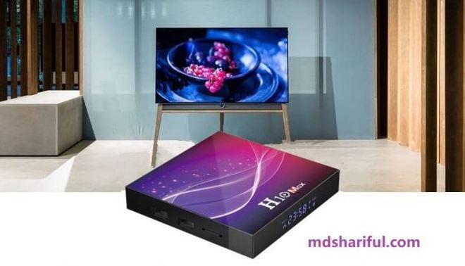 H10 Max Plus Smart TV Box
