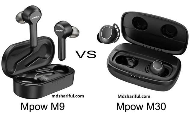 Mpow M9 vs M30