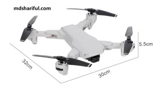 S103 RC Drone unfold