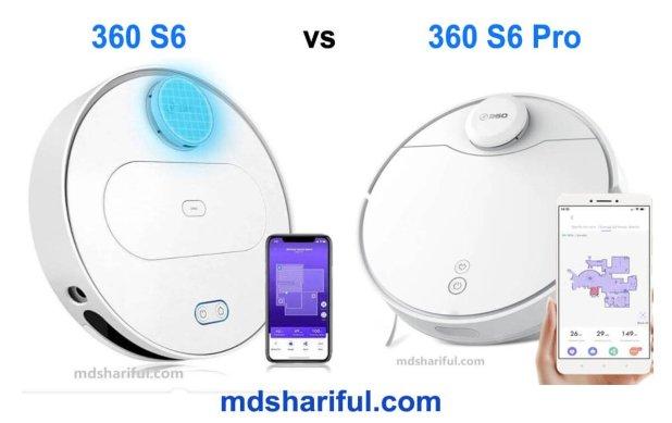 360 S6 vs S6 Pro