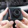 Apeman mini C420 Dash Cam design