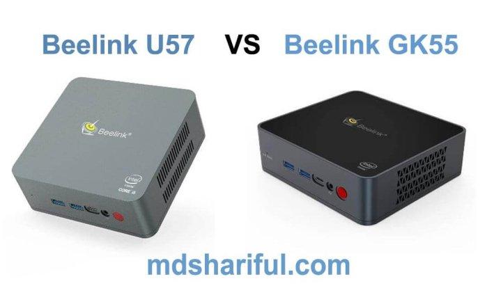 Beelink U57 vs GK55