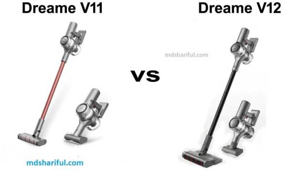 Dreame V11 vs V12