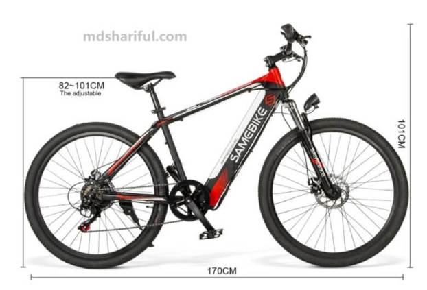 Samebike SH26 design