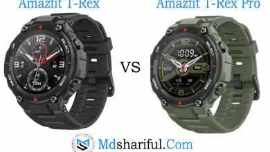 Amazfit T-Rex vs T-Rex Pro