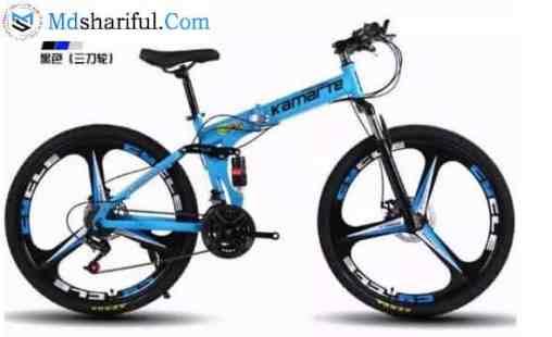KAIMARTE 26 Inch Folding Mountain Bike features