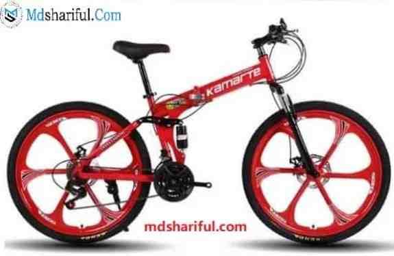 KAIMARTE 26 Inch Folding Mountain Bike