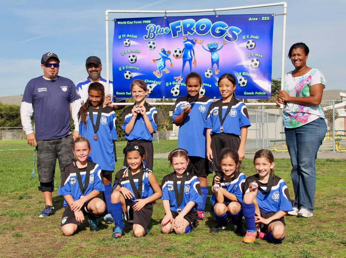 Frogs win MDSA World Cup Medal
