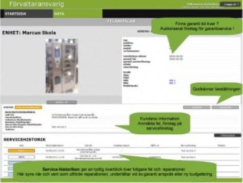 MD Solution AB erbjuder en ny webbtjänst för STORKÖK