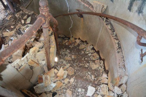 Escadas do Farol - Cuidado