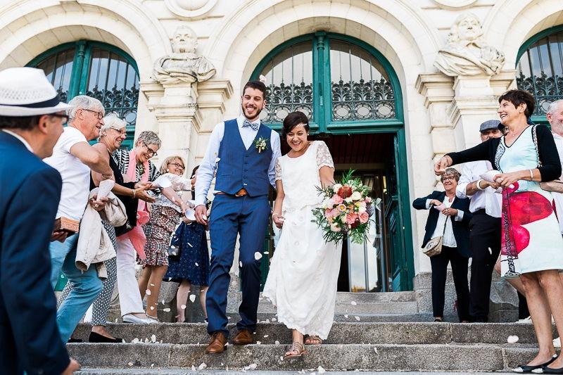 Mariage intimiste face à l'Île aux Moines dans le Morbihan