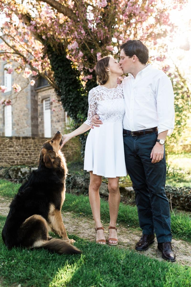 séance engagement fiancailles photos de couple saint malo rennes photographe de mariage ille et vilaine bretagne