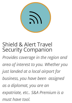 Shield & Alert Security Travel Companion