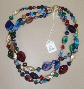 40. Multi-Colored Necklace