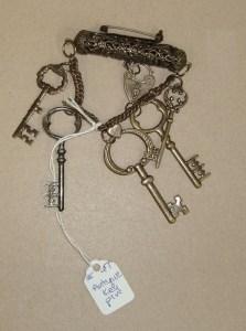 47.  Antique Key Pin