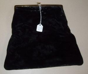20 - Vintage Velvet Evening Bag