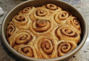 86. Homemade Cinnamon Rolls--Baker's Dozen