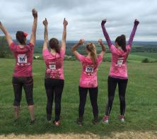 Meades Ladies Got Pretty Muddy For Charity