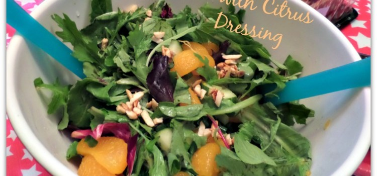 Mandarin Orange Salad with Citrus Dressing