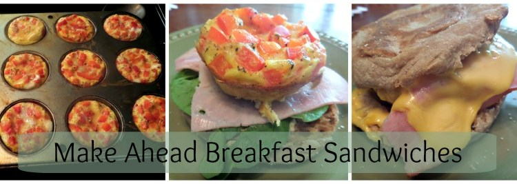 Make Ahead Breakfast Sandwiches