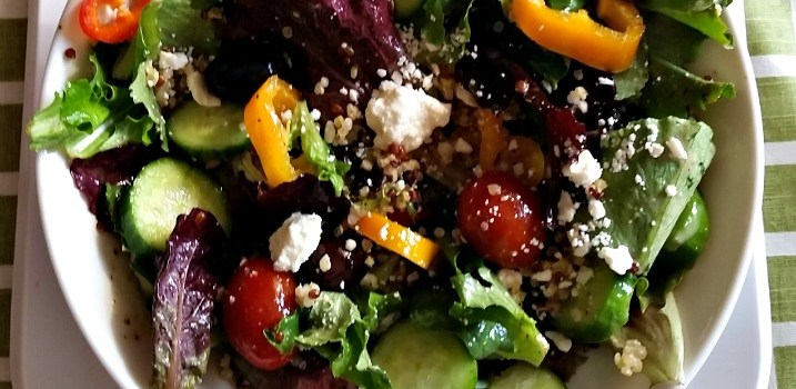 21 Day Fix Mediterranean Quinoa Salad Recipe