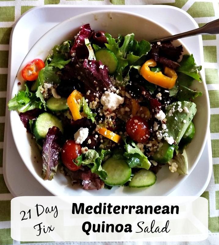 21 Day Fix Med Salad Recipe