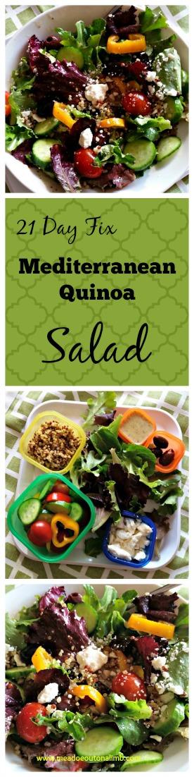 Med Salad Pinterest