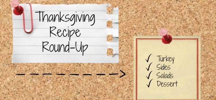 Healthy Thanksgiving Recipe Roundup