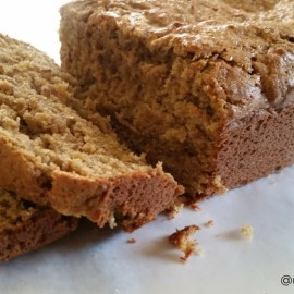 #RECIPEMAKEOVER: Peanut Butter Banana Bread