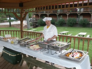 Family Reunion Catering at Meadowbrook Resort in Wisconsin Dells
