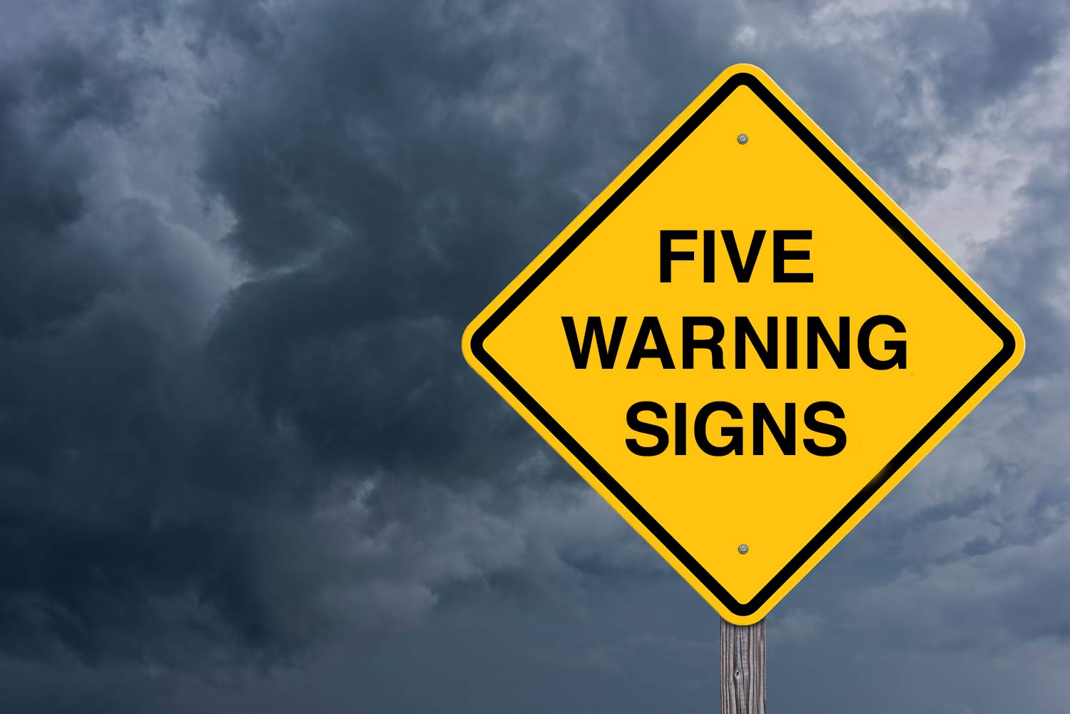 Five Warning Signs You Need A Higher Level Of Care For