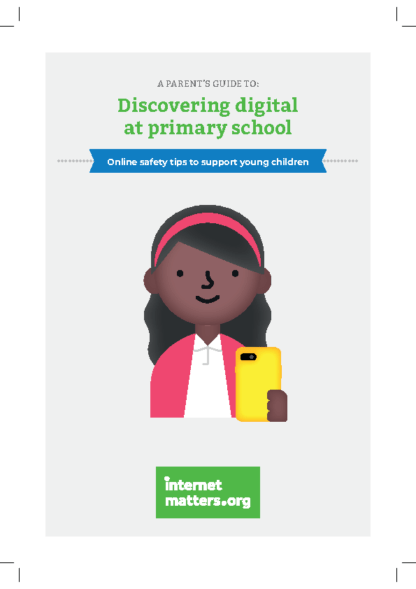 Discovering Digital at Primary School